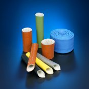 Silicone Rubber Coated Fiberglass Sleeve Firesleeve