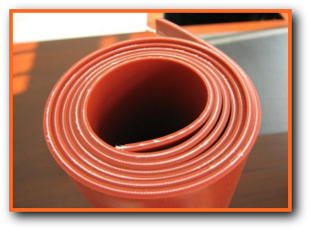 fiberglass reinforced silicone rubber sheet roll strip meeting AMS3320 and AMS3315