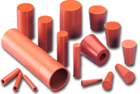 Silicone Rubber High Temperature Tube Tubing Caps And Plugs